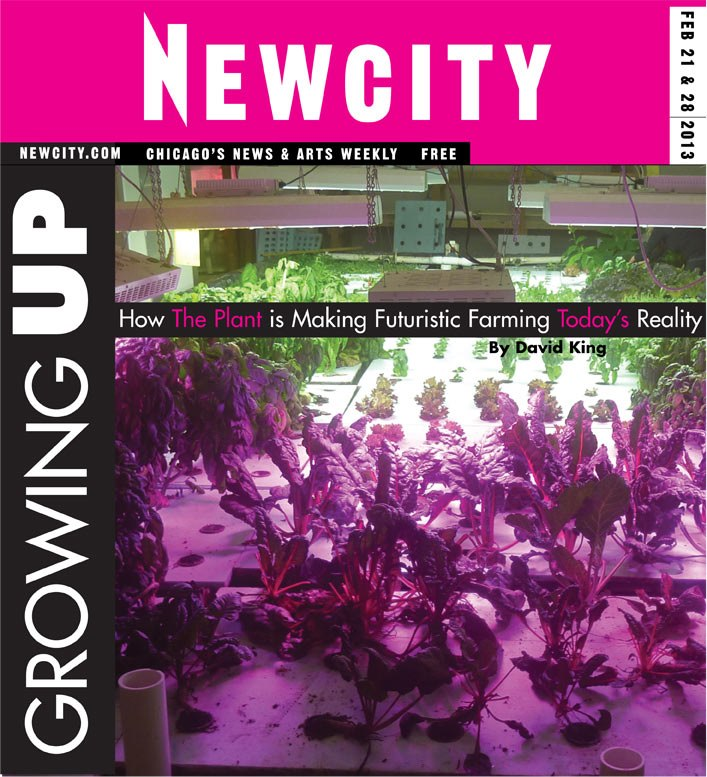 Growing Up: Inside the futuristic vertical farm, The Plant