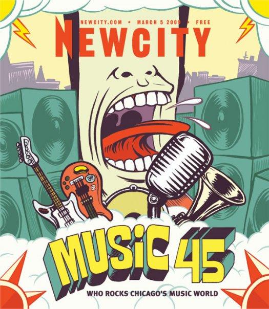 Music 45: Who Rocks Chicago's Music World