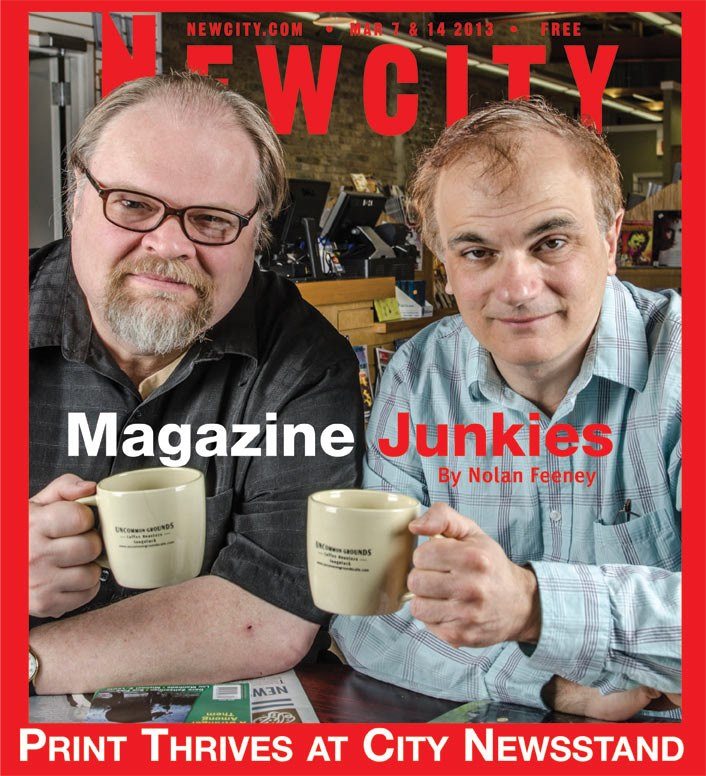 Magazine Junkies: Print thrives at City Newsstand