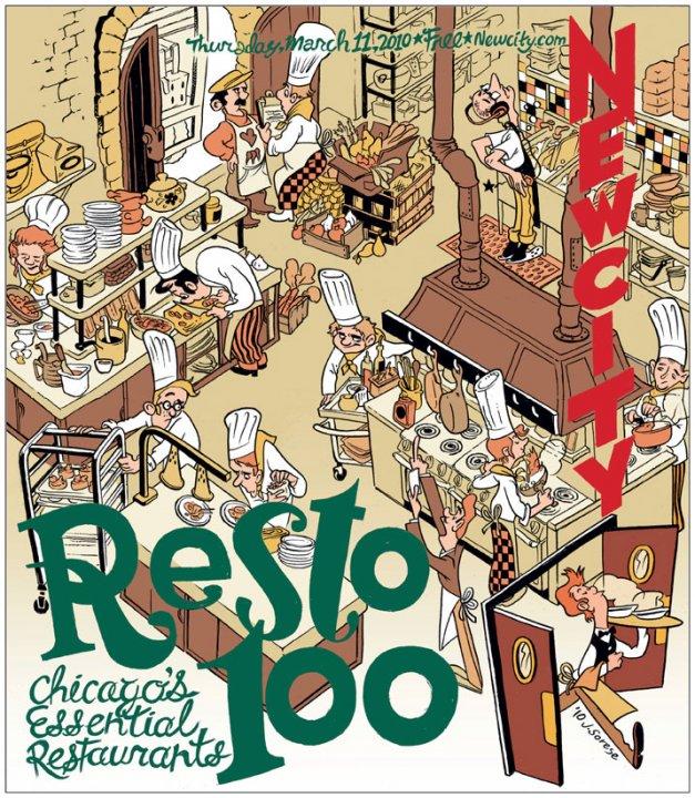 Resto 100: Chicago\'s Essential Restaurants