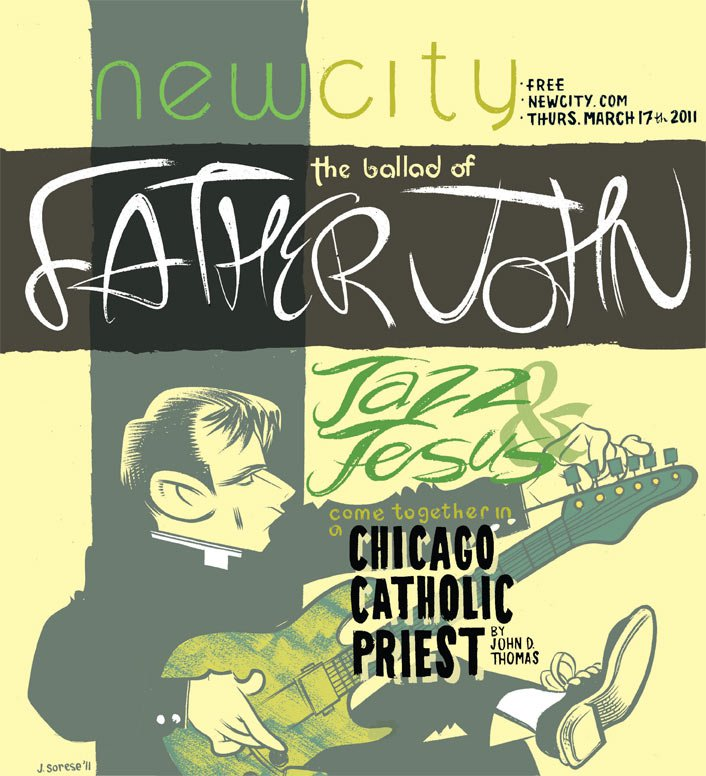 The Ballad of Father John: Jazzy priest John Moulder
