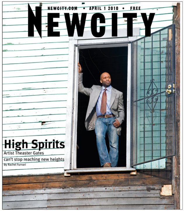 High Spirits: Chicago artist Theaster Gates