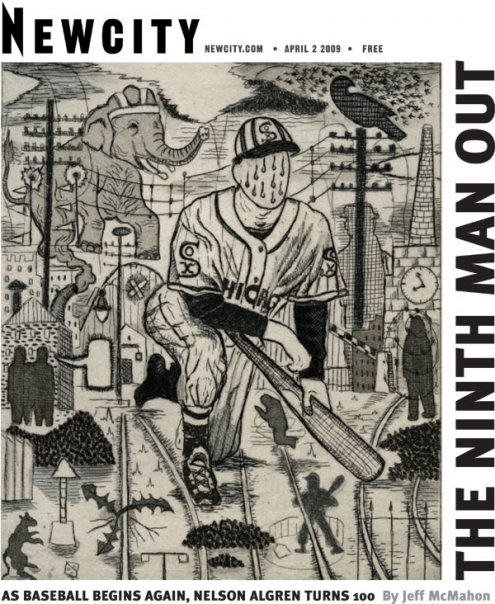 The Ninth Man Out: Nelson Algren at 100