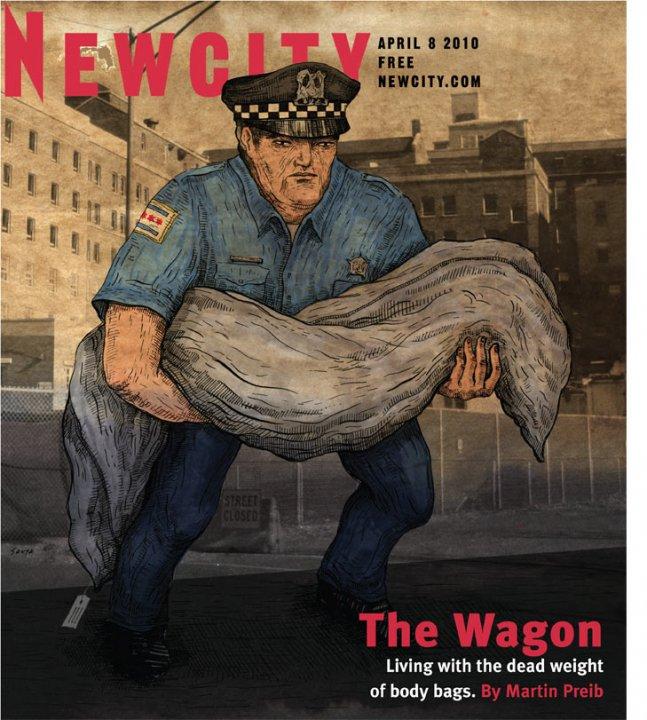 The Wagon: Life among the body bags