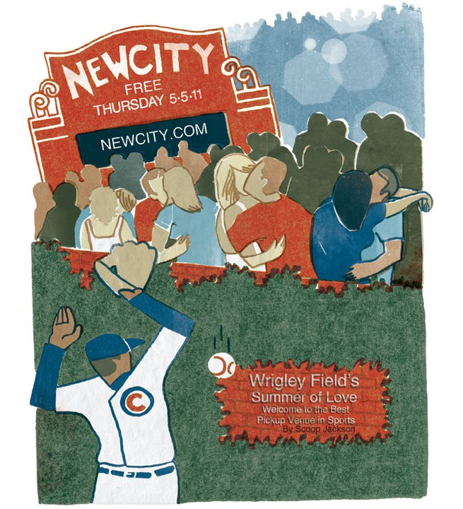 Wrigley Field's Summer of Love: Welcome to the best pickup venue in sports