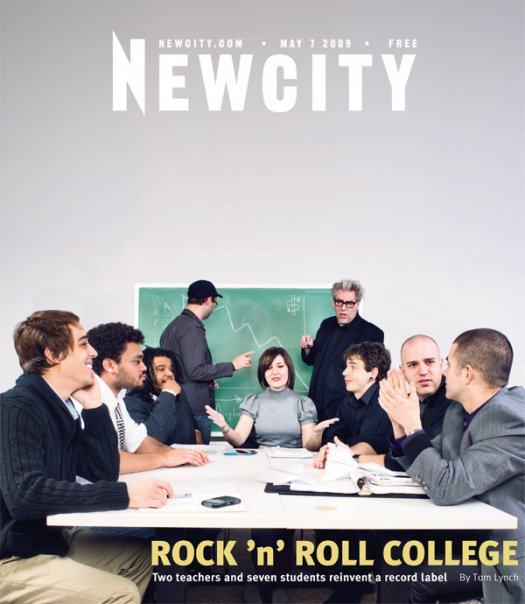 Rock 'N' Roll College: AEMMP at Columbia