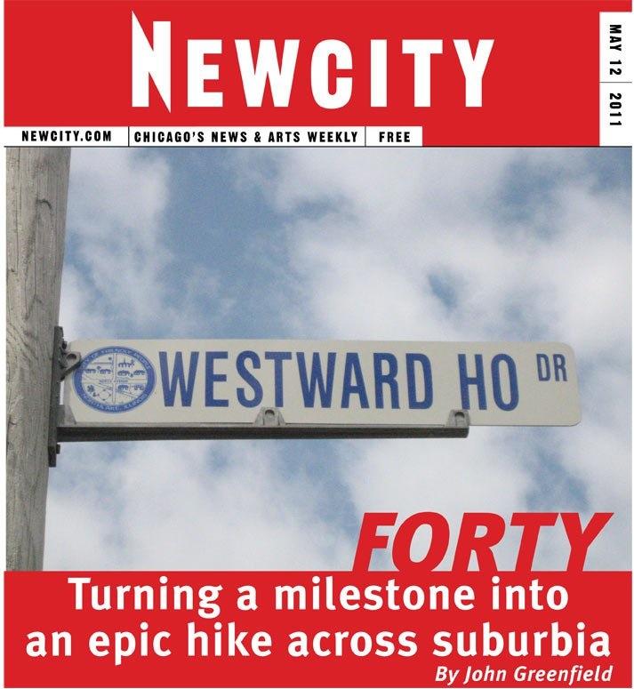 Forty: Walking across suburbia