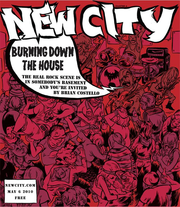 Burning Down the House: the real rock scene is in somebody\'s basement