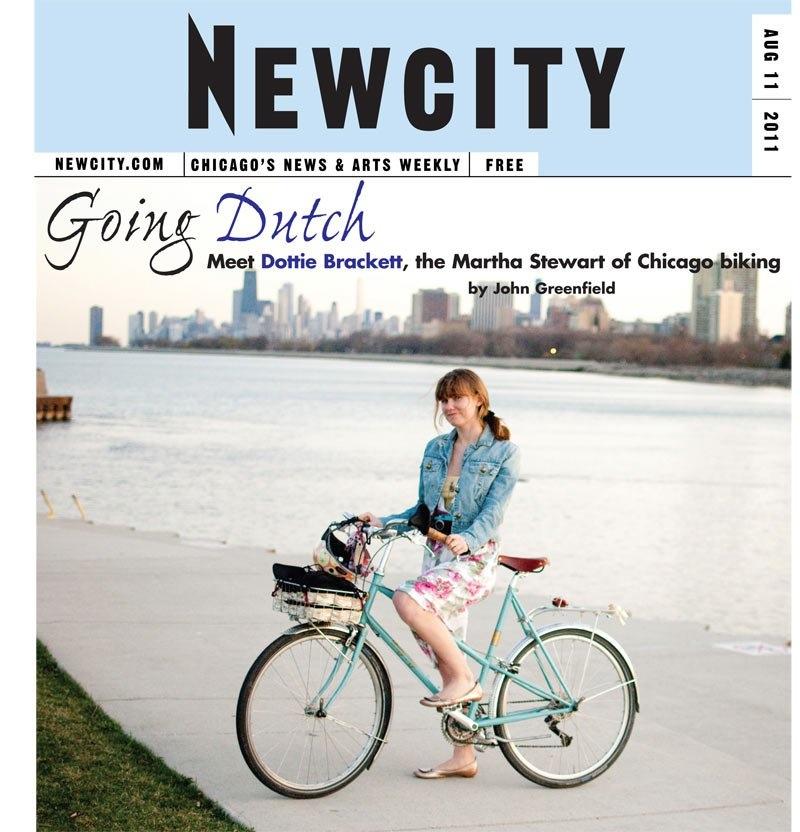 Going Dutch: Bicycle fashion blogging