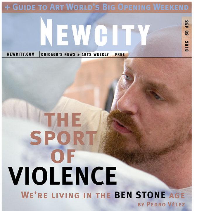 The Sport of Violence: Artist Ben Stone + Big Art Night Guide