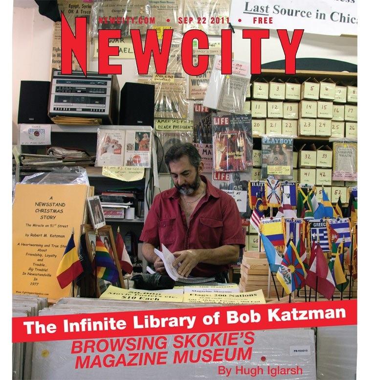 The Infinite Library of Bob Katzman: Skokie\'s Magazine Museum