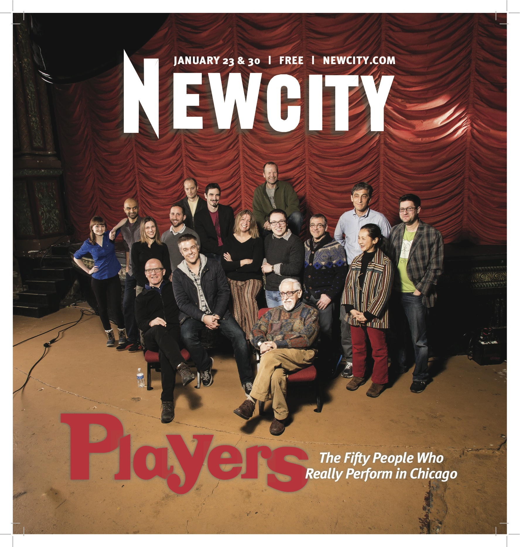 Players: The Fifty People Who Really Perform in Chicago