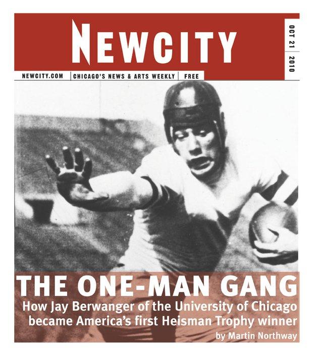 The One-Man Gang: How UofC\'s Jay Berwanger won the first Heisman Trophy