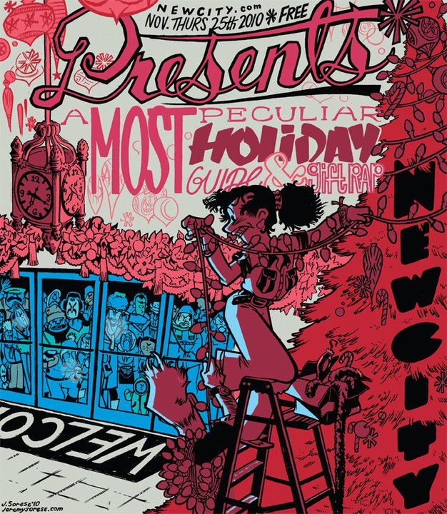 Presents: A Most Peculiar Holiday Guide and Gift Rap