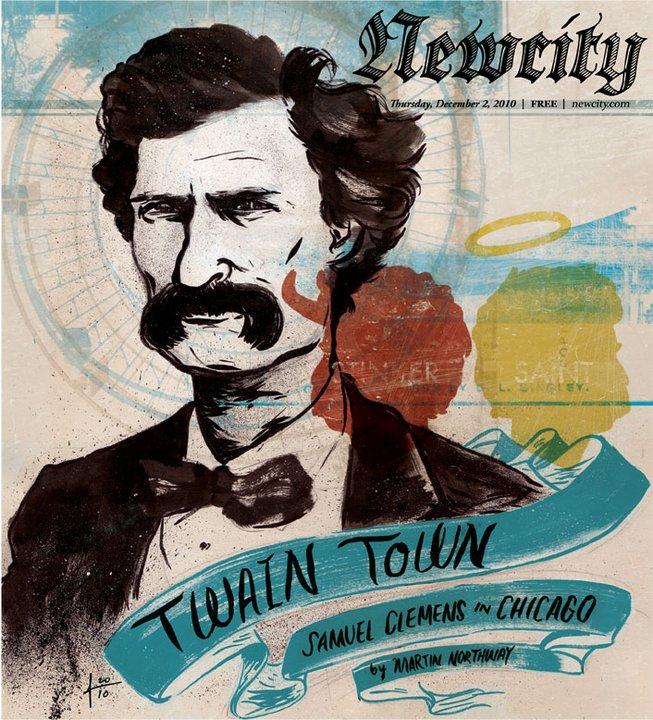 Twain Town: Samuel Clemens in Chicago