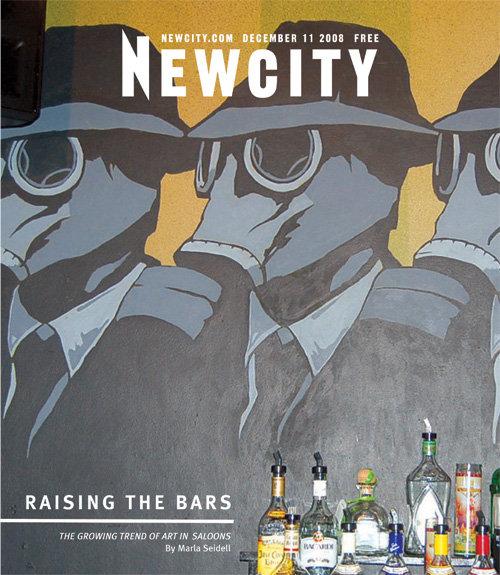 Raising the Bars: Art in Saloons