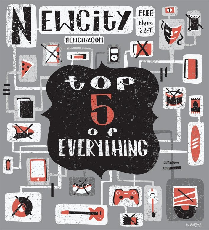Top 5 of Everything 2011