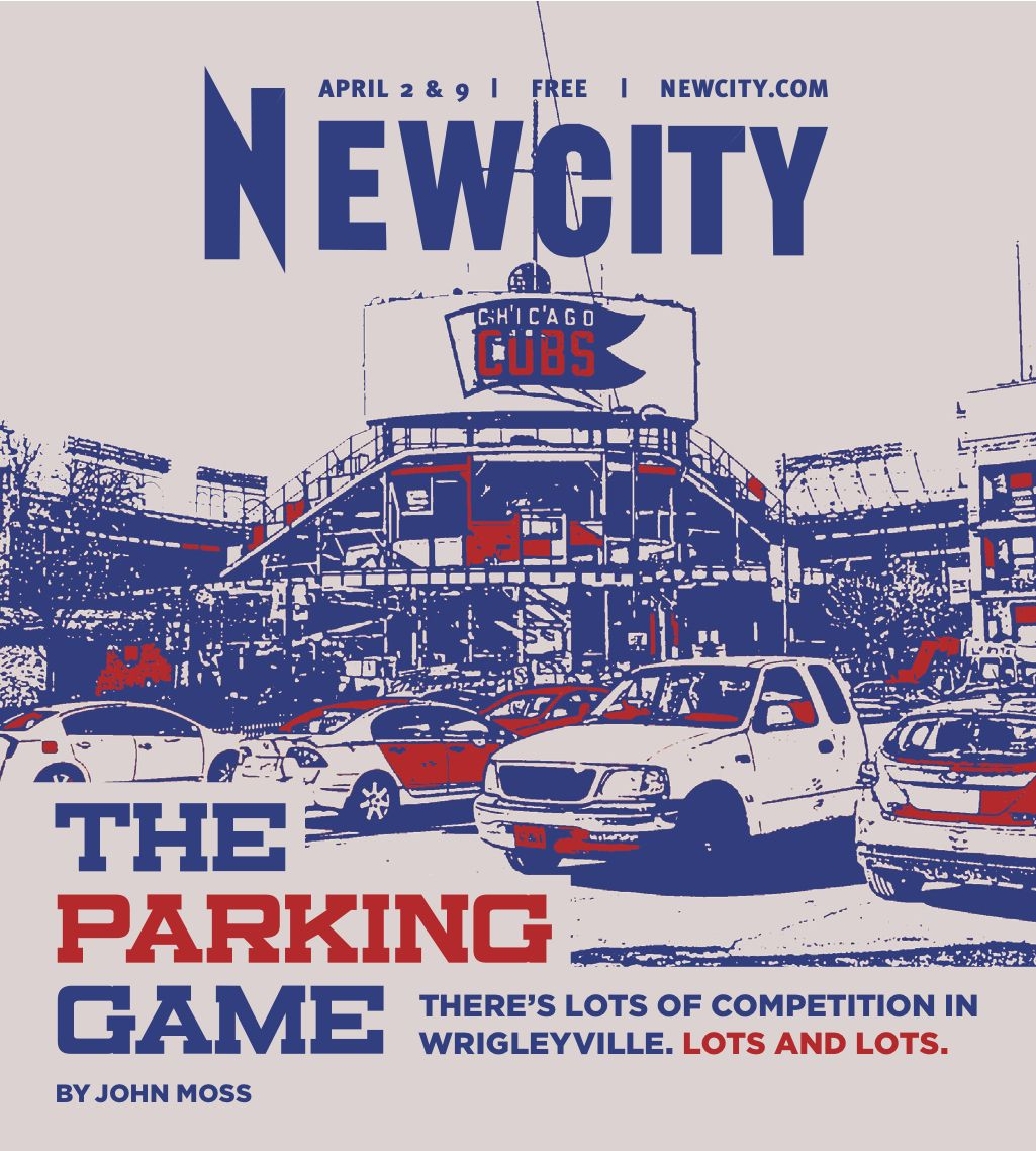 The Parking Game: There's Lots of Competition in Wrigleyville. Lots and Lots.