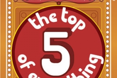 The Top 5 of Everything