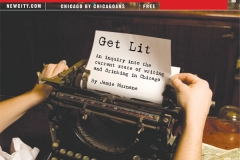Get Lit: writing and drinking