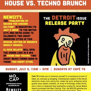 Newcity and MOCAD's Detroit Issue Release Party