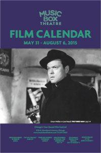 Music Box Film Calendar June-July 2015 Cover